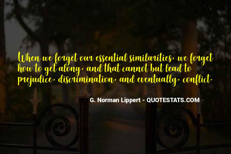 Quotes About Discrimination And Equality #1092779