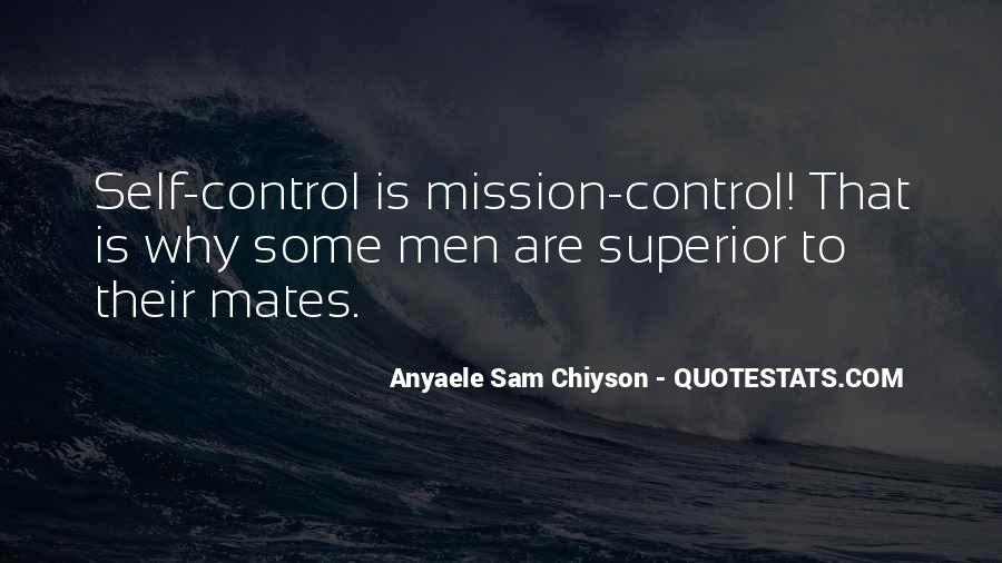 Quotes About Mission Control #1396170