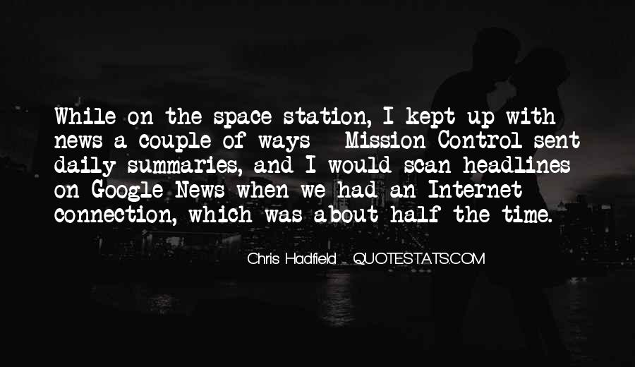 Quotes About Mission Control #742714