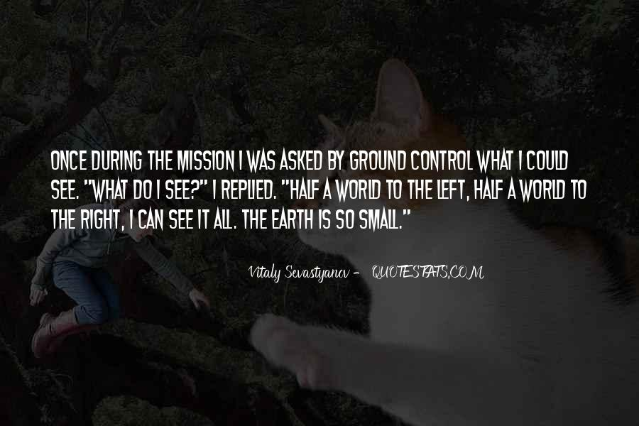 Quotes About Mission Control #817138