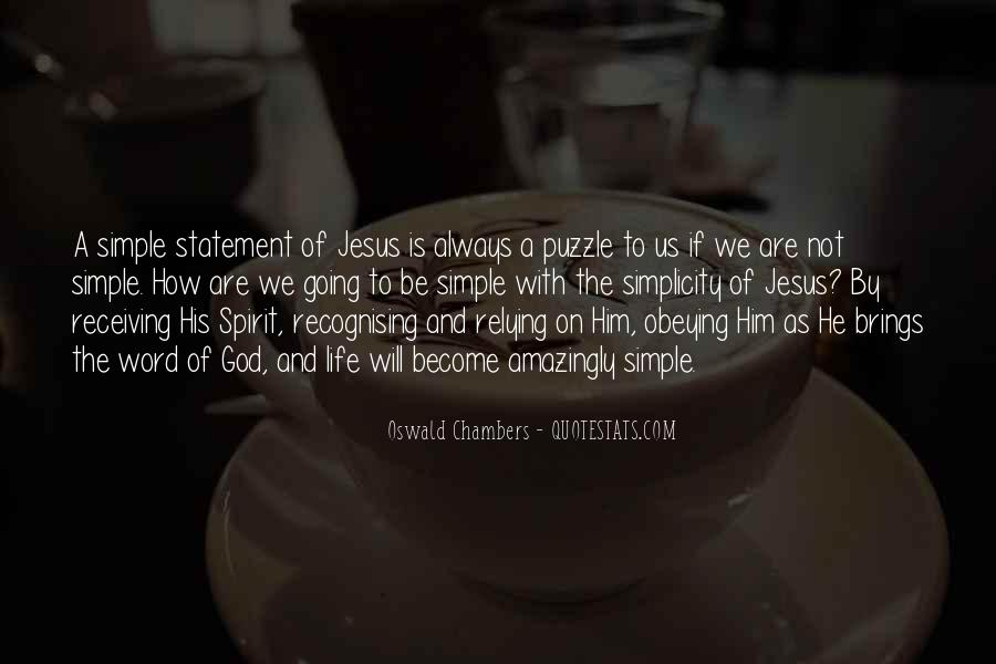 Quotes About Relying On Jesus #1812019