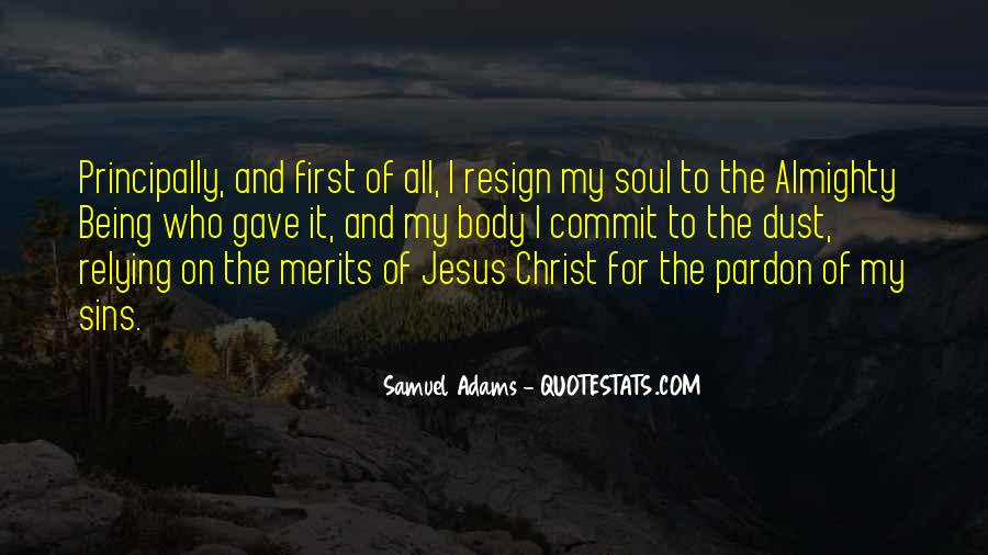 Quotes About Relying On Jesus #441916