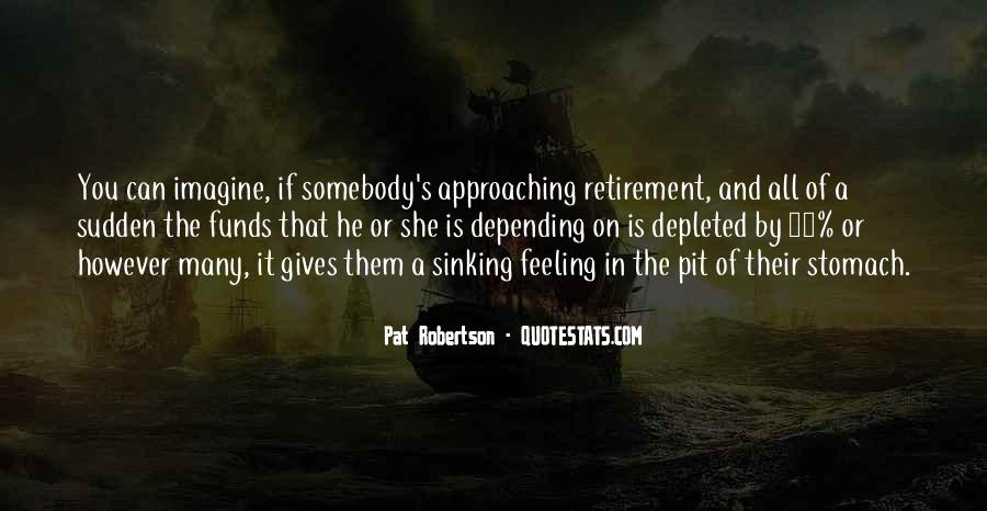Quotes About Sinking #182756