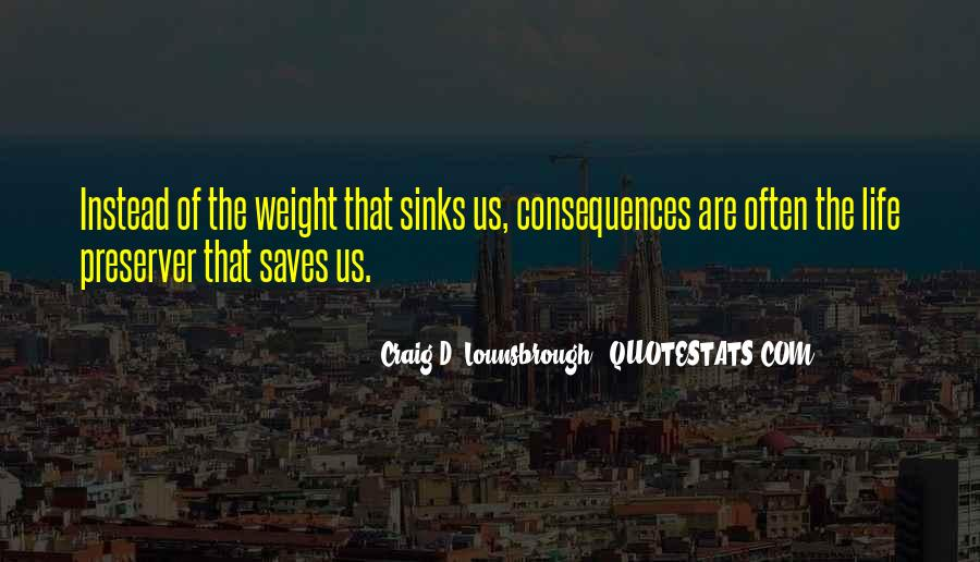 Quotes About Sinking #241479