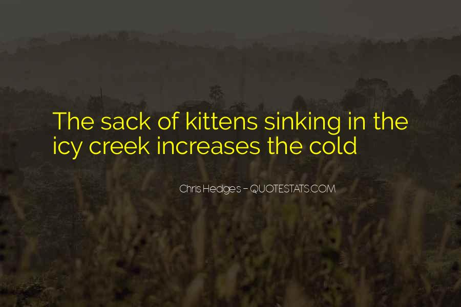 Quotes About Sinking #301637