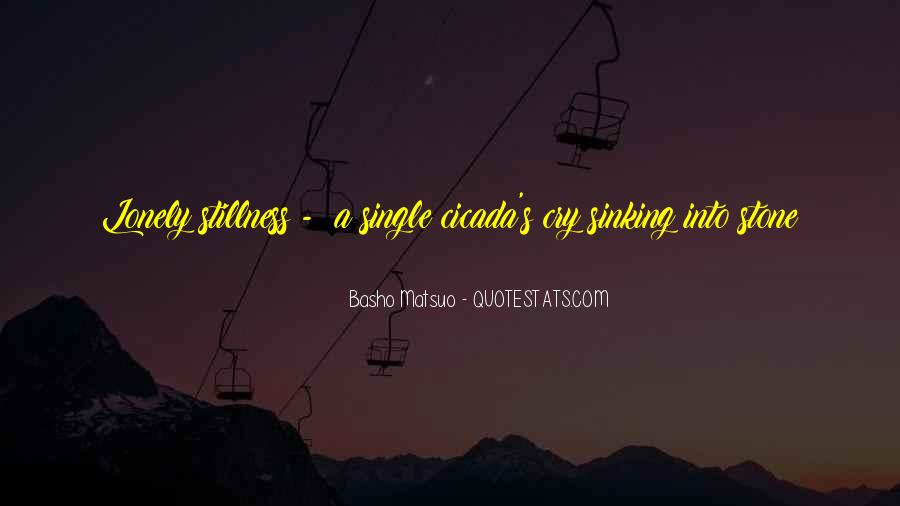 Quotes About Sinking #395549