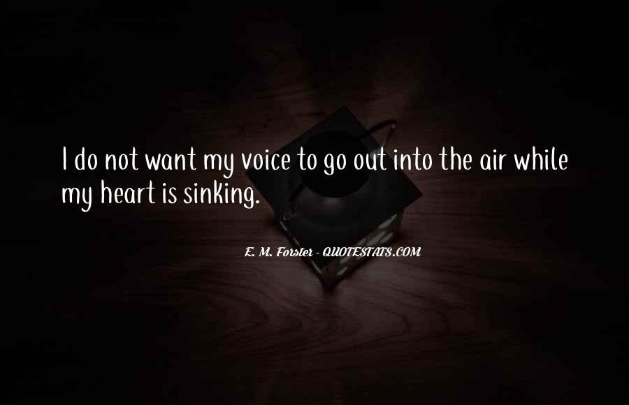 Quotes About Sinking #410584