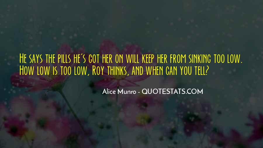 Quotes About Sinking #452737