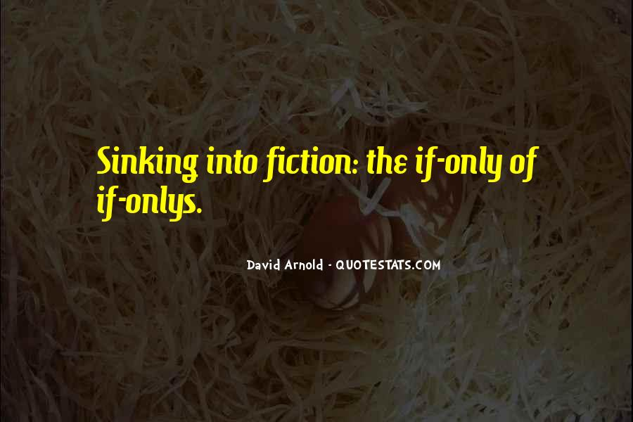 Quotes About Sinking #460653