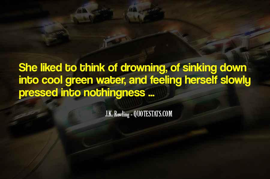 Quotes About Sinking #65769