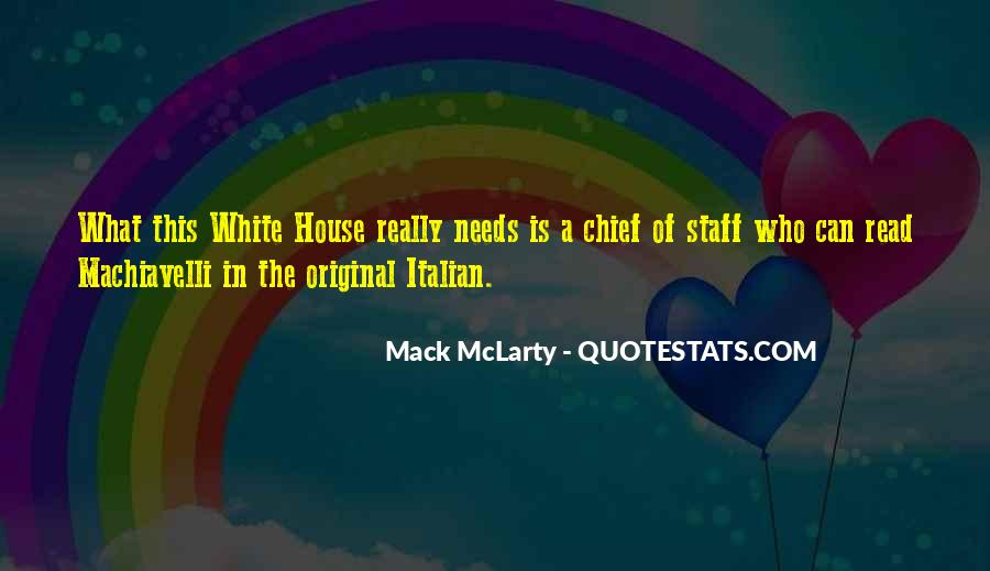 Quotes About Chief Of Staff #1076769