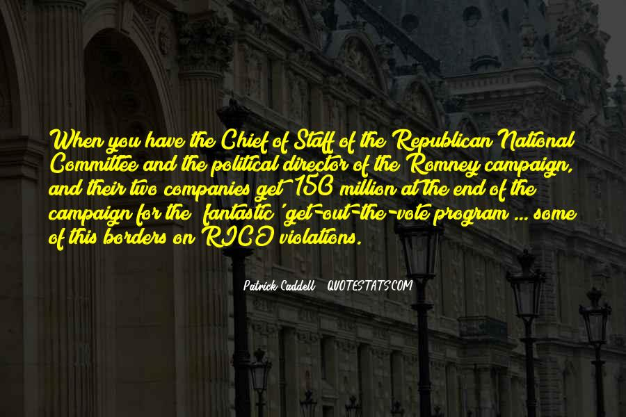 Quotes About Chief Of Staff #996003