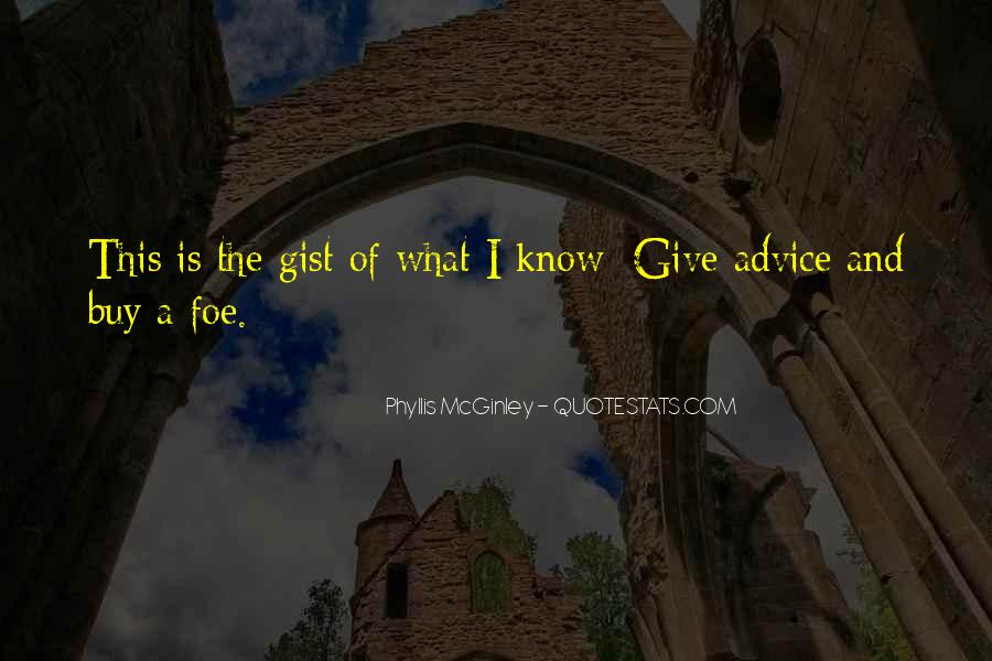 Quotes About Gist #1294933