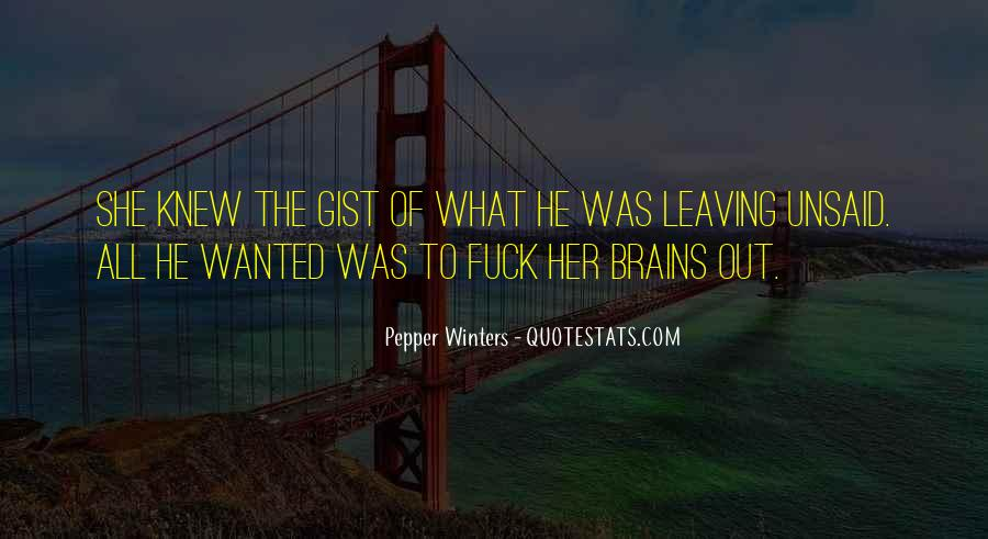 Quotes About Gist #987109