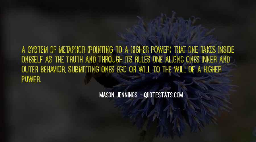 Quotes About A Higher Power #1007068