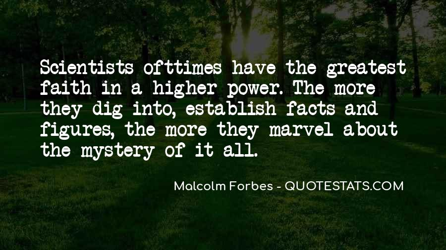 Quotes About A Higher Power #239831