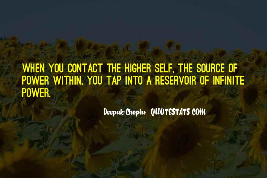 Quotes About A Higher Power #849302