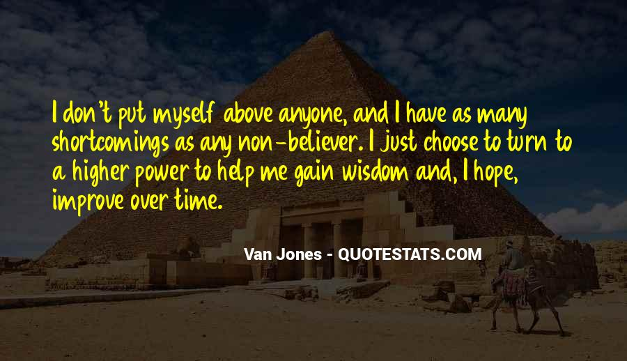 Quotes About A Higher Power #986872