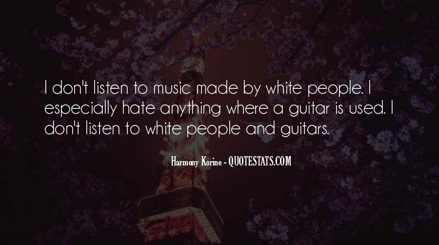 Quotes About Guitar And Music #118012