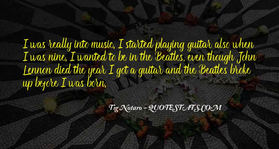 Quotes About Guitar And Music #303709