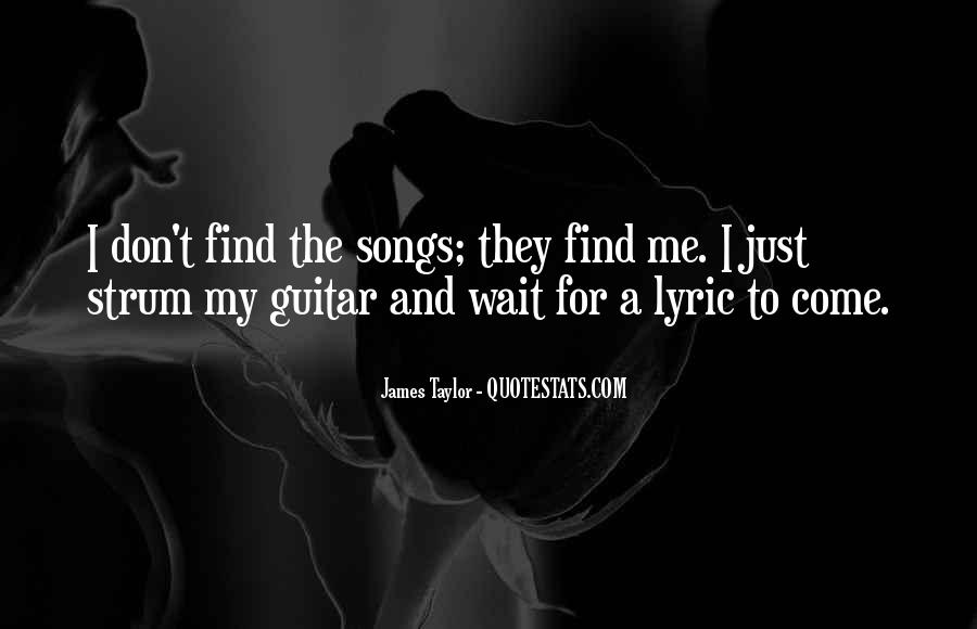 Quotes About Guitar And Music #307860