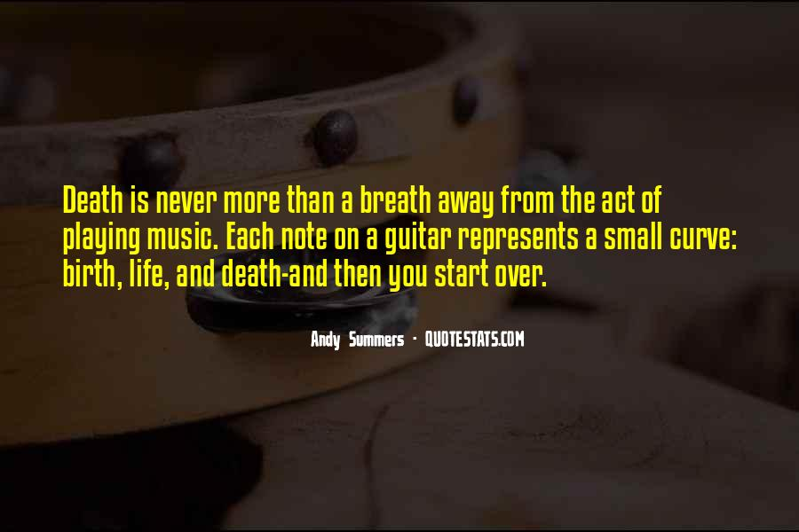 Quotes About Guitar And Music #43847