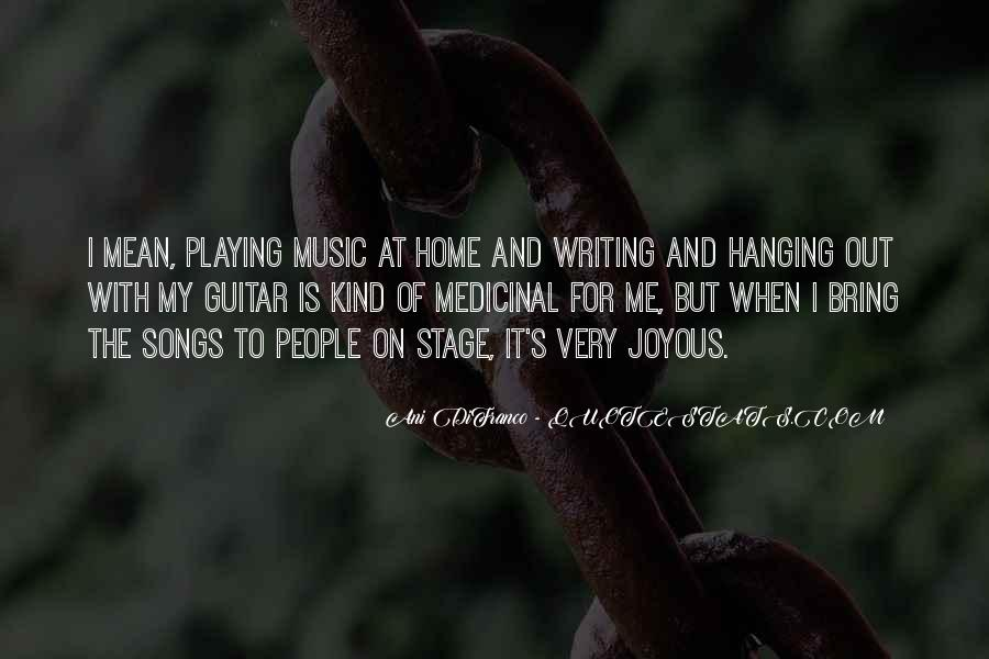 Quotes About Guitar And Music #466014