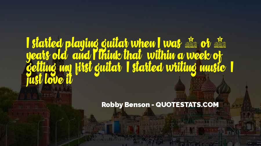 Quotes About Guitar And Music #466835