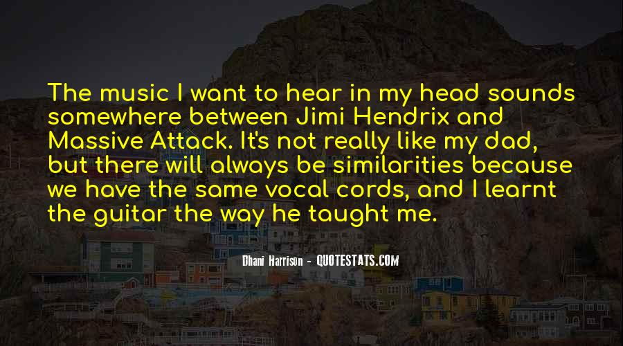 Quotes About Guitar And Music #53629