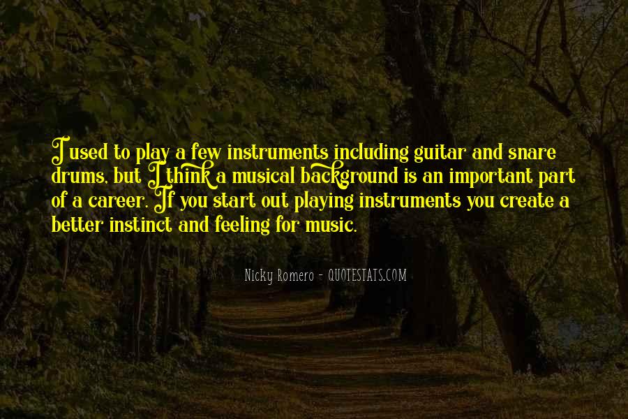 Quotes About Guitar And Music #610037