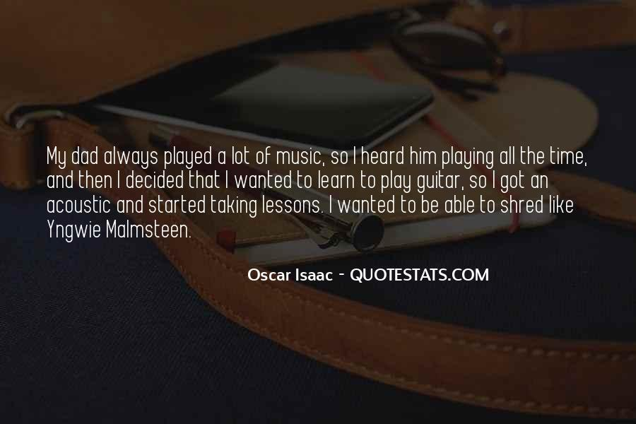 Quotes About Guitar And Music #653954
