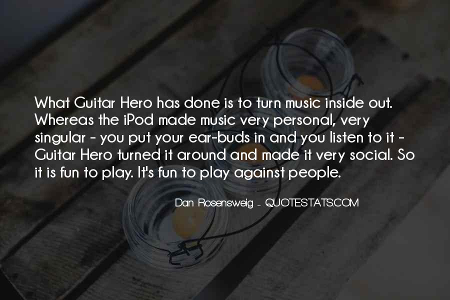 Quotes About Guitar And Music #666392