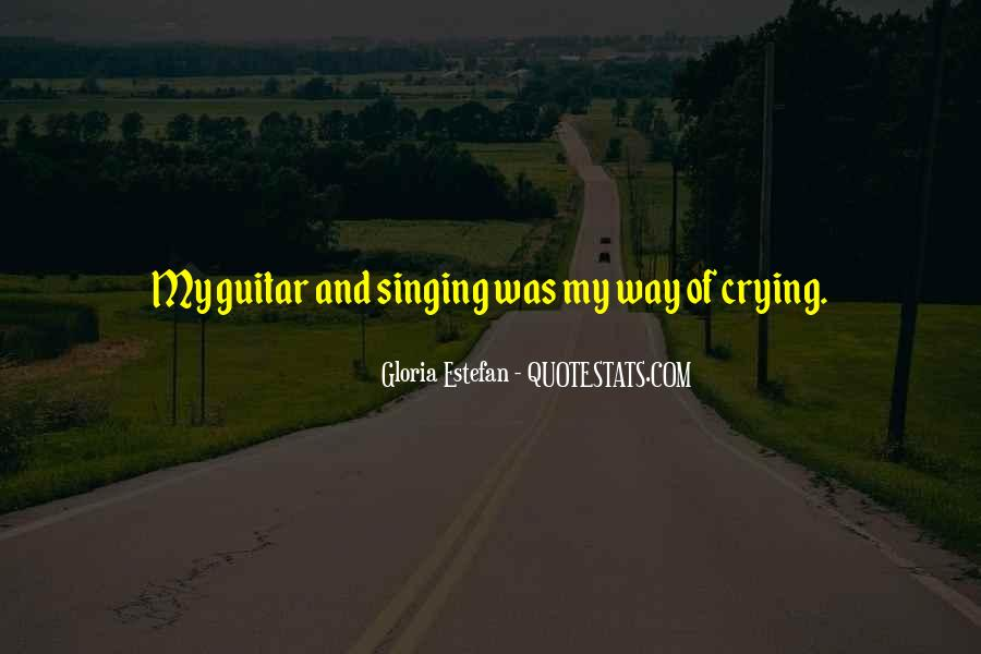 Quotes About Guitar And Music #707959