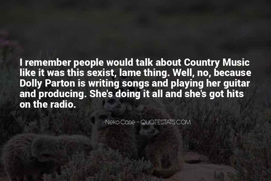 Quotes About Guitar And Music #816670