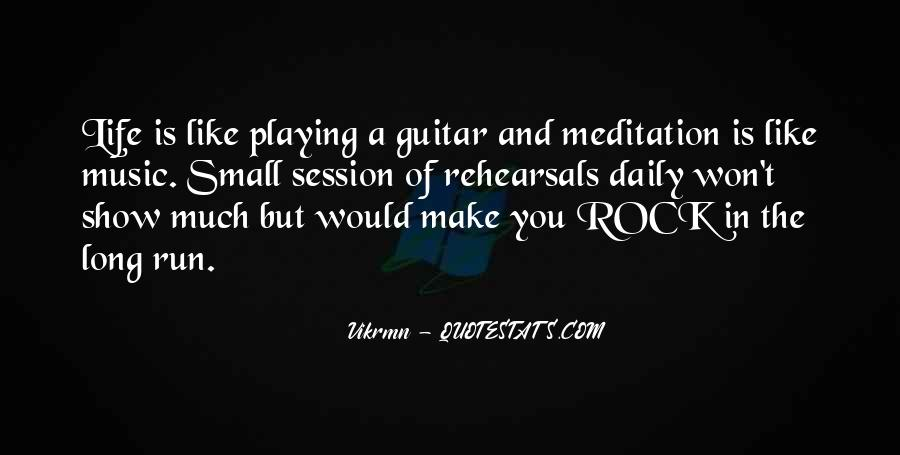 Quotes About Guitar And Music #820930