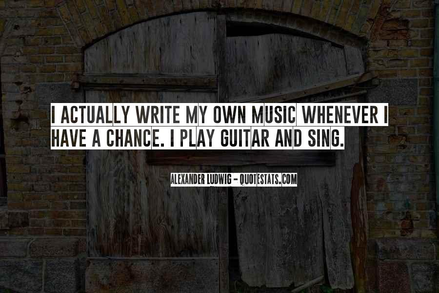 Quotes About Guitar And Music #856910