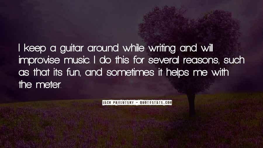 Quotes About Guitar And Music #88448