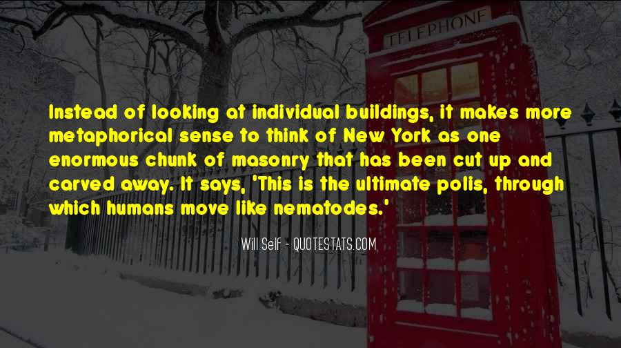 Quotes About New York Buildings #1184169