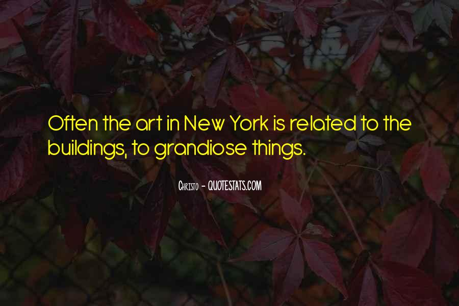 Quotes About New York Buildings #1497135