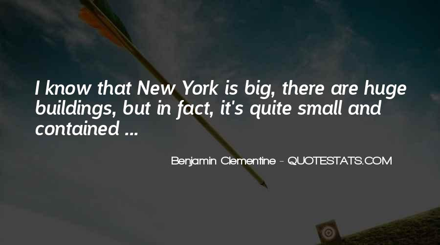 Quotes About New York Buildings #1661266
