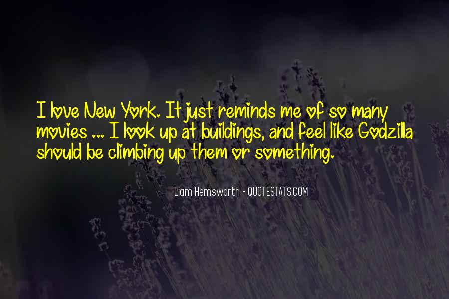 Quotes About New York Buildings #1664519
