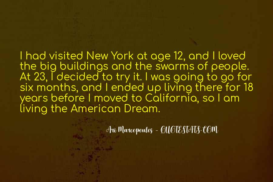 Quotes About New York Buildings #531615