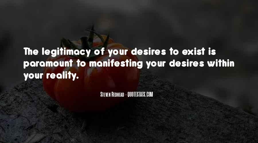 Quotes About Manifesting Desires #749290