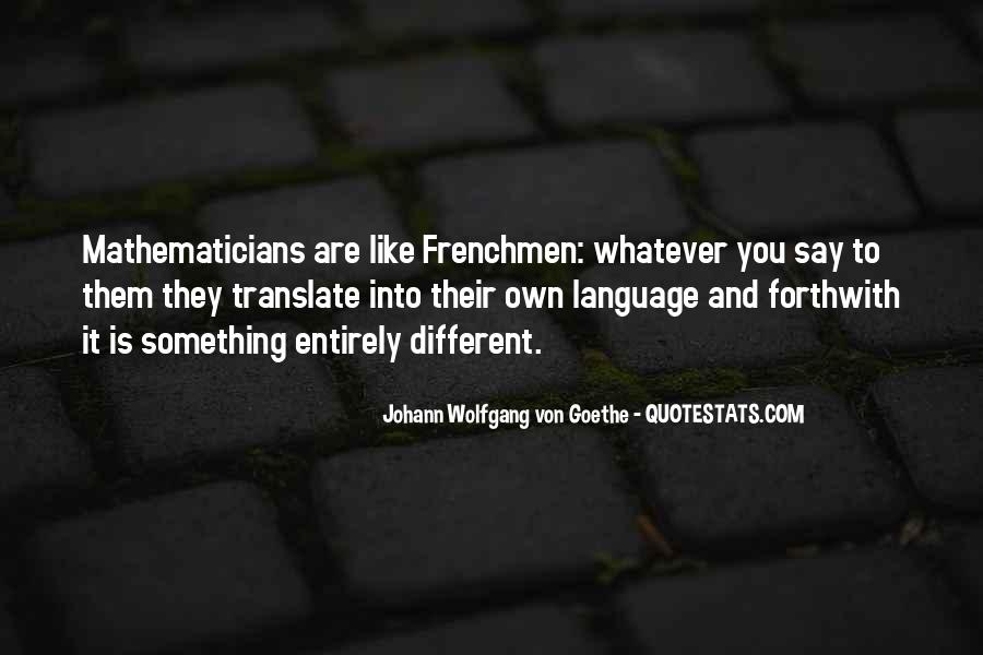 Quotes About Frenchmen #1059184