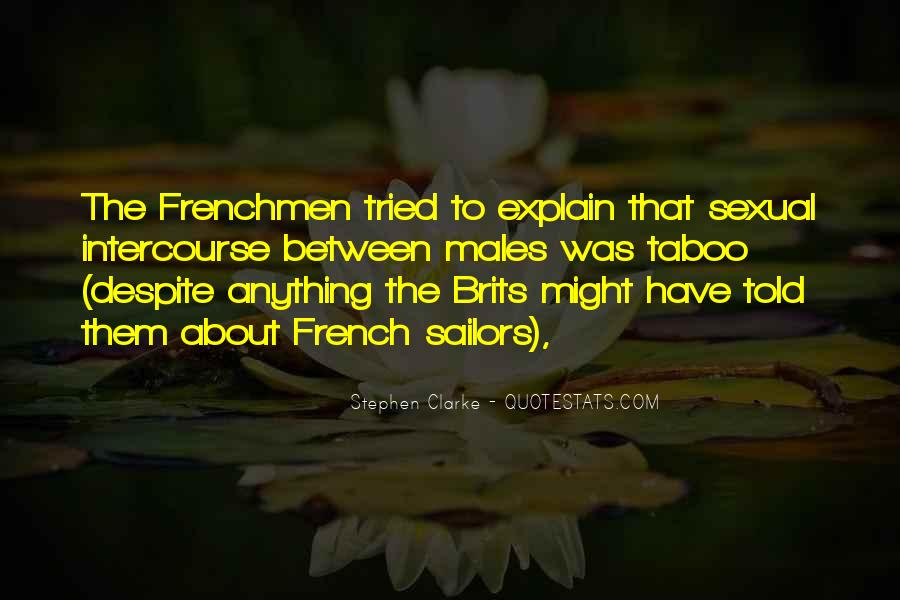 Quotes About Frenchmen #189365