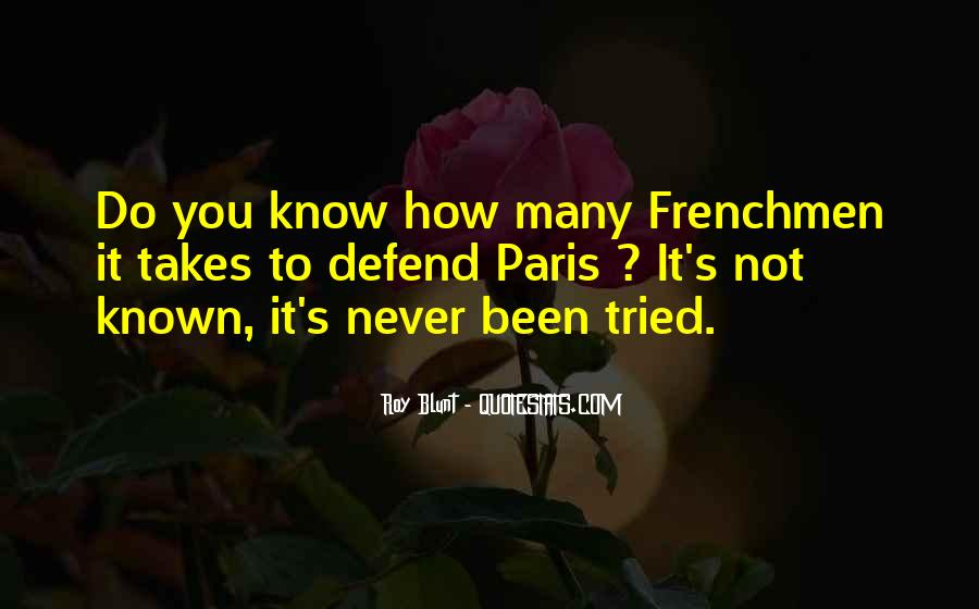 Quotes About Frenchmen #70737