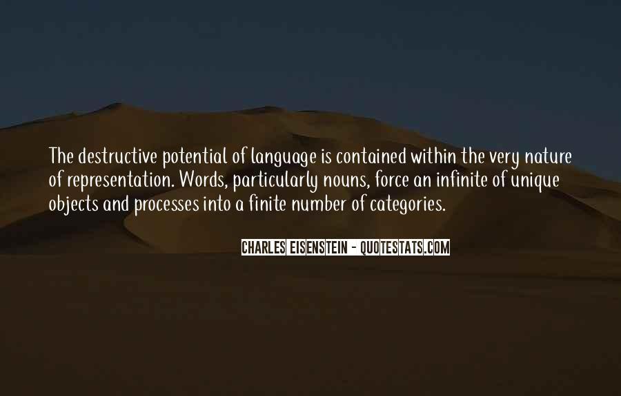 Quotes About Destructive Words #1177357