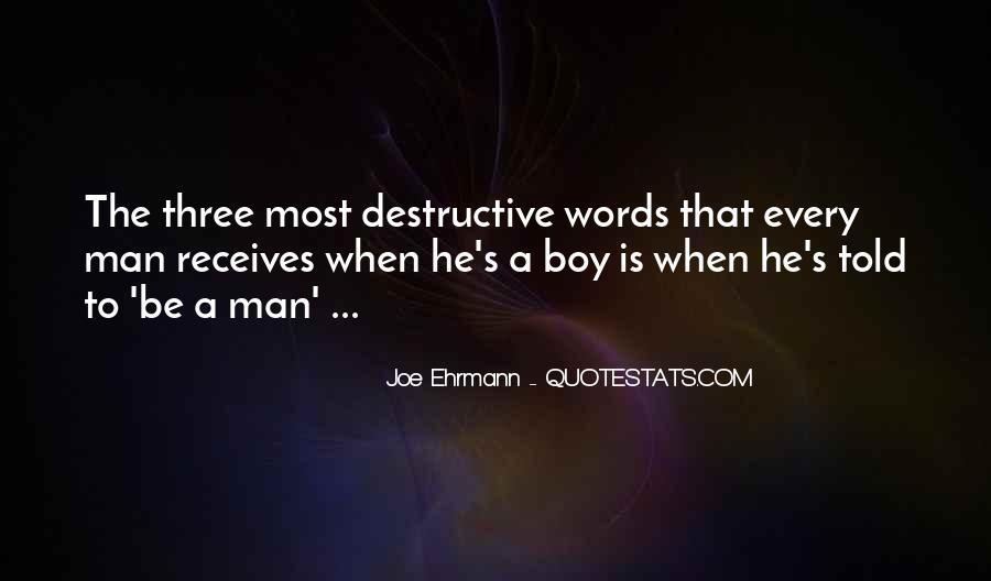 Quotes About Destructive Words #47191