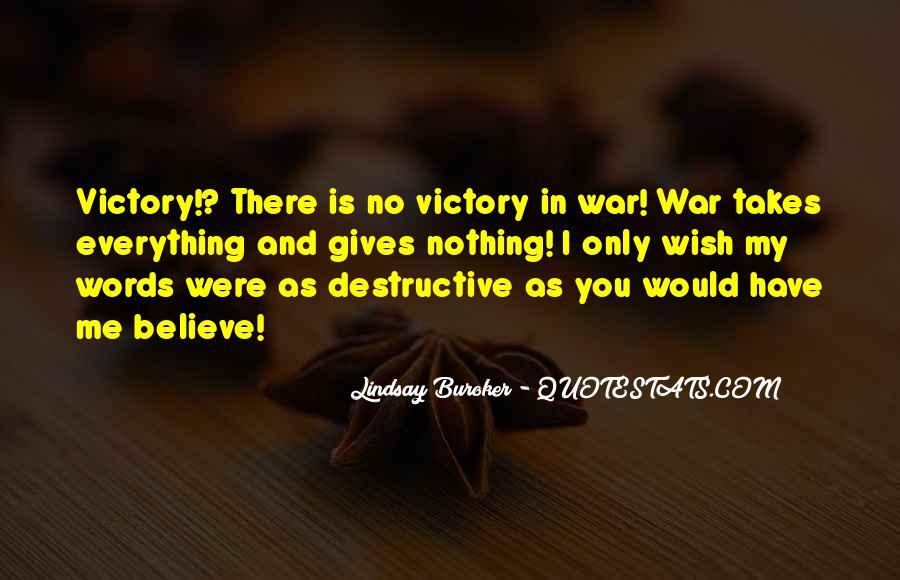 Quotes About Destructive Words #475304