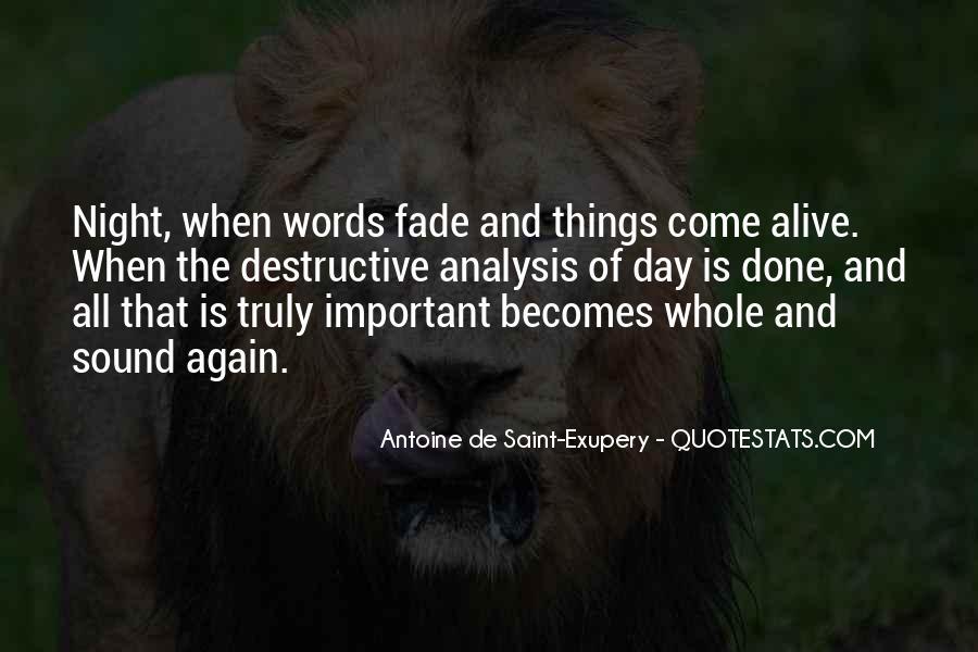 Quotes About Destructive Words #779747
